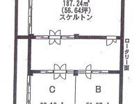 ロータリービル地下1階 B号室